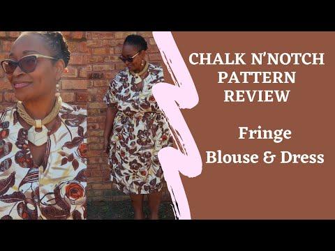 [470]Pattern Review Chalk N'Notch Fringe Dress Ft. Minerva.com