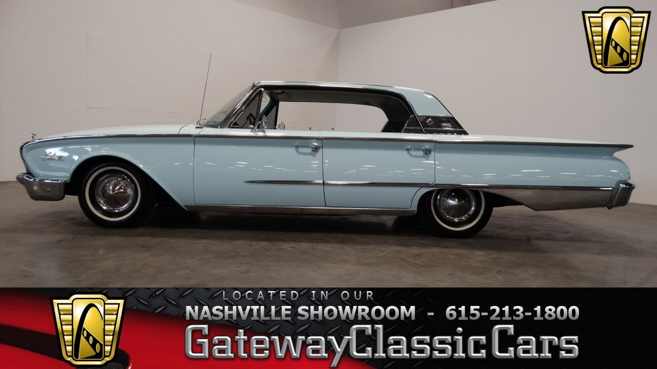 1960 ford galaxie town sedan gateway classic cars. Black Bedroom Furniture Sets. Home Design Ideas