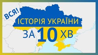 All history of Ukraine in 10 min.