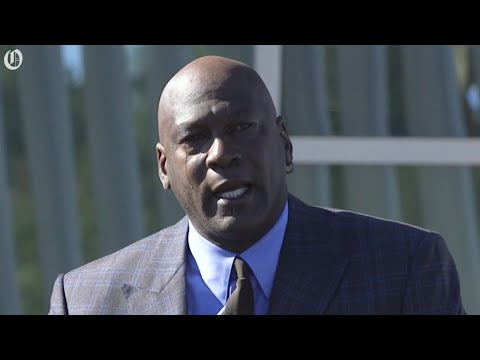 Glenn Cosby - Michael Jordan Opens Medical Clinic In Charlotte For The Underprivileged