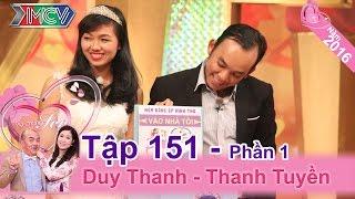 Chết cười với cô vợ thoạt đầu cứ tưởng chồng là GAY   Duy Thanh - Thanh Tuyền   VCS 151