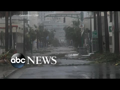 Island of Puerto Rico \'destroyed\' by Hurricane Maria
