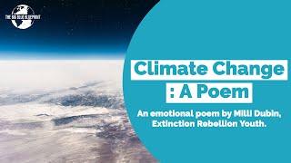 Climate Change: A Poem.