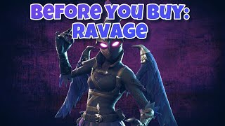 Ravage Fortnite Skin and Iron Beak Review ( Female Raven ) | Before You Buy | In Game included