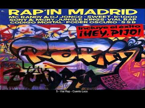 Rap´In Madrid [1989] (completo) -VV.AA-