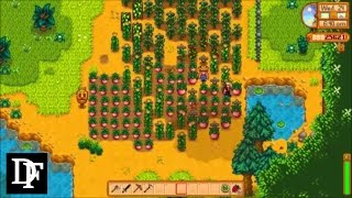 Stardew Valley - Completionist Farm 18 - Cucumber Surplus and the Special Johnson
