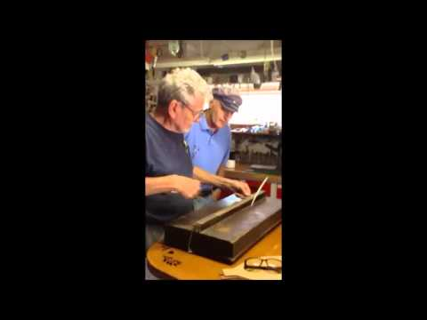 Henry Beckman plays Tennessee Music Box made in the 1800s