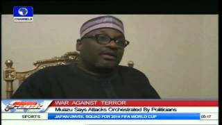 Gambar cover Muazu Says Terrorist Attacks Orchestrated By Politicians