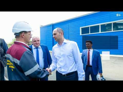 Денис Паслер приехал с рабочим визитом в Медногорск (0+)