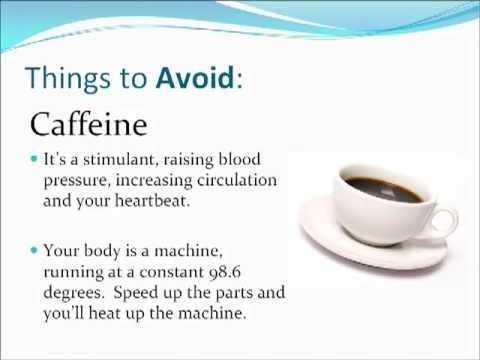 Hyperhidrosis Diet Tips