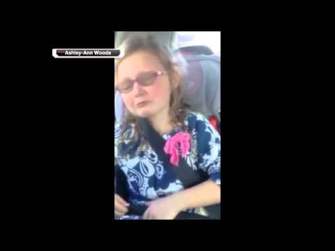 Young girl upset over Jimmy Graham trade =(