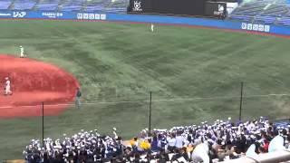 2013年11月10日 秋季東京都大会決勝 対二松学舎大附戦.