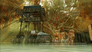Fallout 76 Camp Build: Brotherhood of Steel Outpost