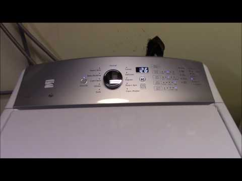 KENMORE Series 600 Top Load HE Washer & Dryer Initial Thoughts / Long-Term Review - PART 1-