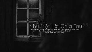 Lyrics    Như Một Lời Chia Tay    Trịnh Công Sơn / Chính Duật