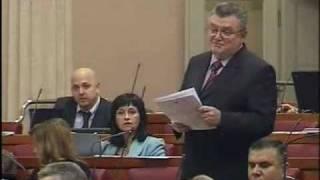 Z. Ronko postavlja pitanje Šukeru na aktualnom satu u Saboru hoće li Vlada sanirati obnovu ŽUC-a