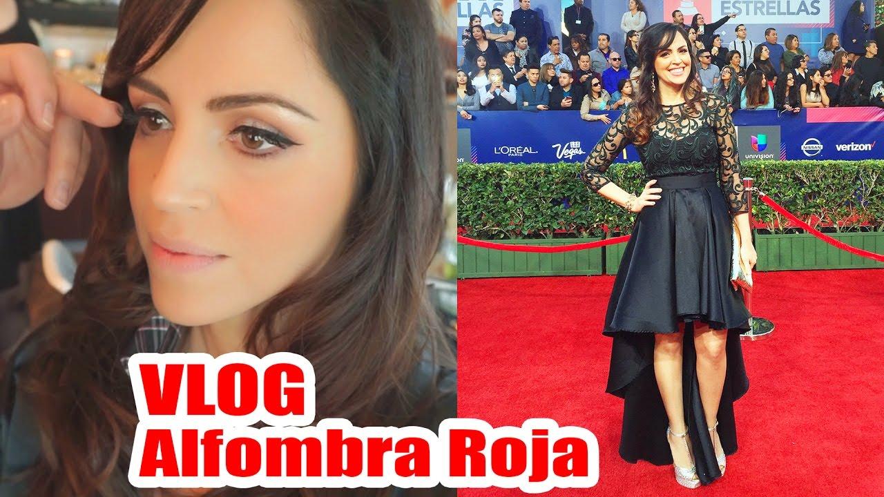 Alfombra Roja Latin Grammy Sandra Cires Con L Oreal Paris