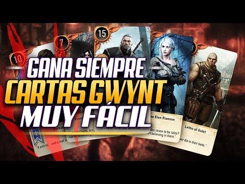 GANA SIEMPRE a las Cartas GWYNT, Muy Fácil - The Witcher 3 Tutorial