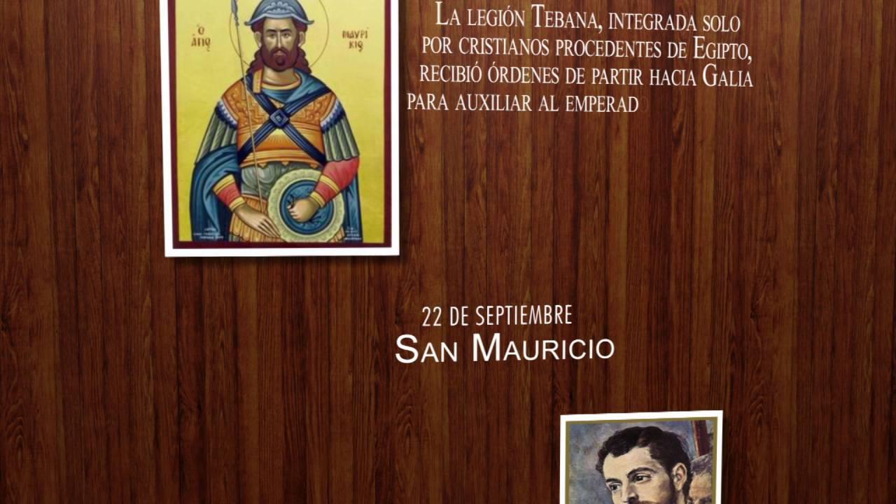 Resultado de imagen para santo 22 de septiembre