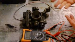 Fiat Punto Thro Position Sensor Testing