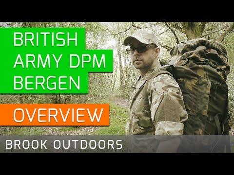 British Army DPM Bergen │ Infantry Bergen │ Bombproof Rucksack