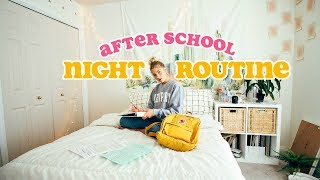 AFTER SCHOOL NIGHT ROUTINE! hey guys! today's video is my night rou...