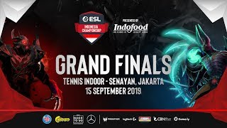 Grand Finals ESL Indonesia Championship Season 2 - Dota 2