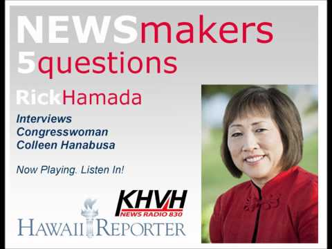 5 Questions with Congresswoman Colleen Hanabusa