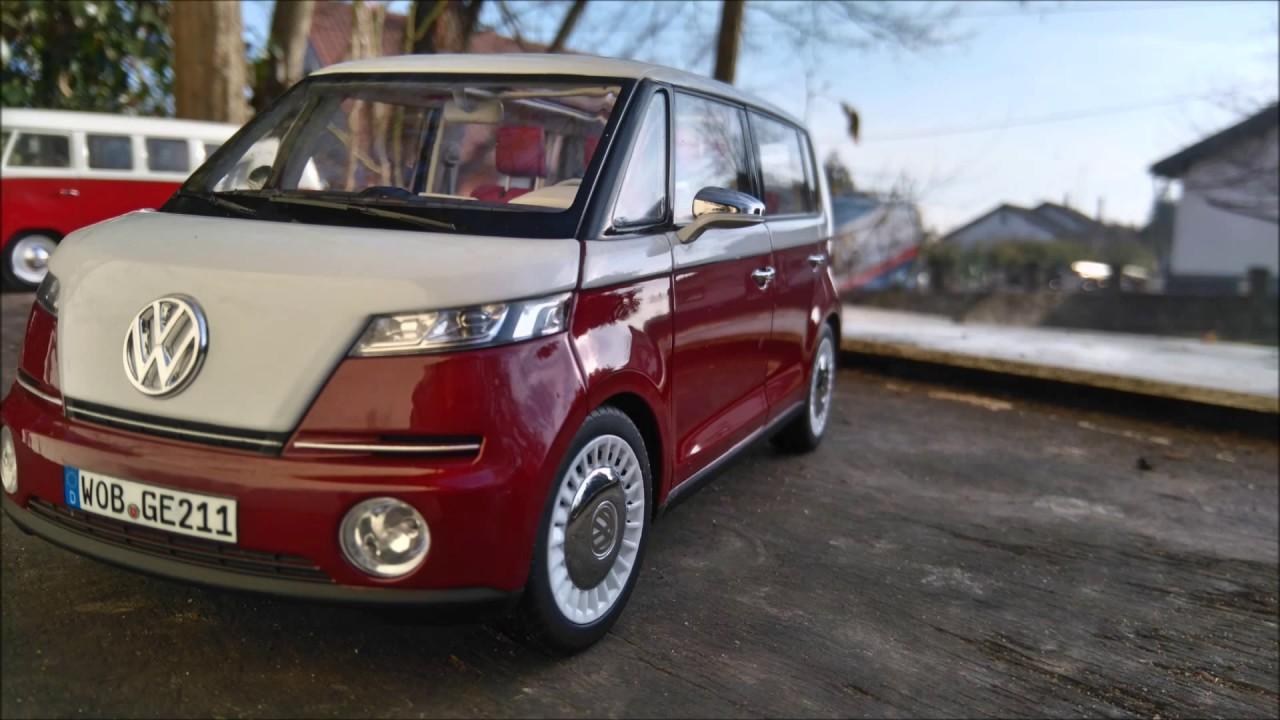 Vw Bulli Concept 1 18 Norev