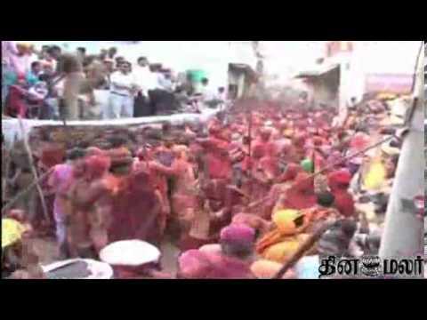 Holi Celebrations In Uttar Pradesh