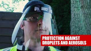 JSP Cough Guard and Cough Guard 2 - Social Distancing at Work Safety Products - No Impact Protection