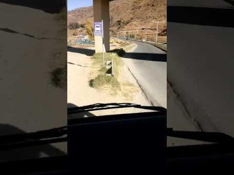 Thimphu city Bus ride