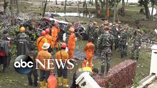 Tsunami death toll in Indonesia climbs to over 400