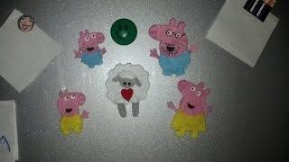 Свинка Пеппа - магнитики своими руками