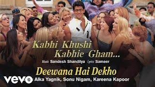 Gambar cover Deewana Hai Dekho Best Audio - K3G|Hrithik Roshan|Kareena Kapoor|Alka Yagnik|Sonu Nigam