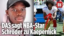 NBA-Star Dennis Schröder spricht über seine Erfahrungen mit Rassismus   PLACE TO B Stars & Stories