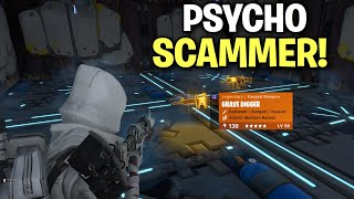 Silly little PSYCHO! Scammer gets exposed! 😂👌 (Scammer Get Scammed) Fortnite Save The World