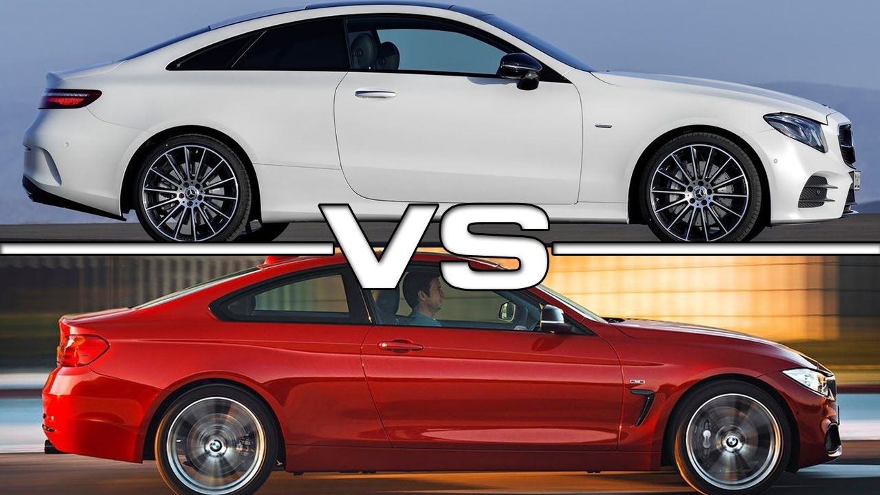 2018 Mercedes E Class Coupe Vs BMW 4 Series