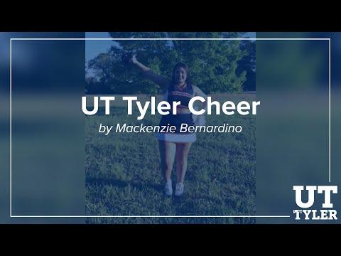 UT Tyler Cheer by Mackenzie Bernardino