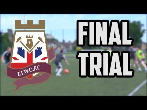 Thames Ironworks Community FC Final Trial