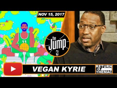McGrady On The Benefits Of Kyrie & Lillard Doing Vegan Diet | The Jump | Nov 15, 2017