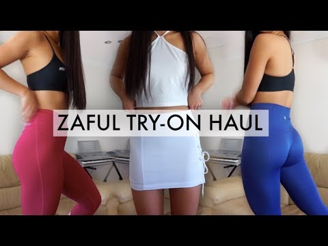 Affordable Gym Leggings & Spring Clothes // TRY-ON HAUL   THERESATRENDS