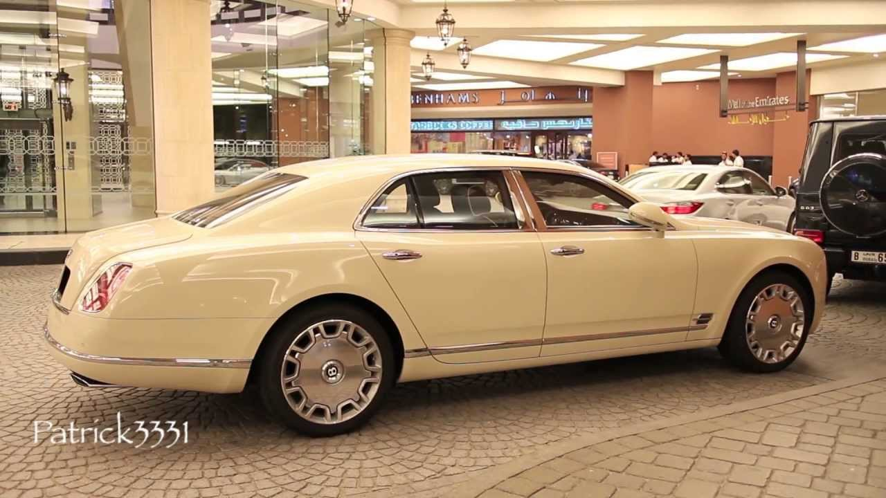 Bentley mulsanne cream white youtube vanachro Images