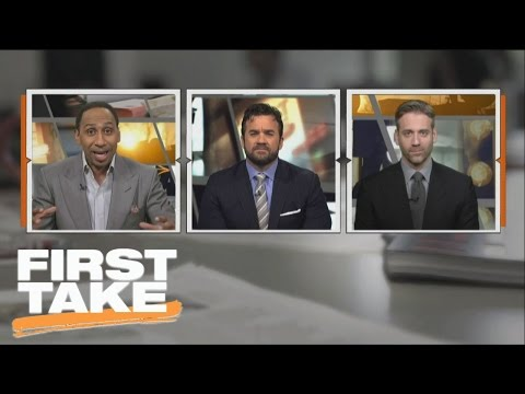 Stephen A., Max Would Love To See Marshawn Lynch With Raiders | First Take | March 17, 2017