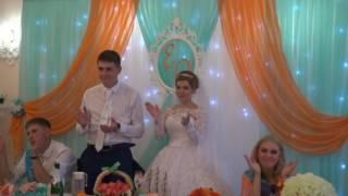 Музыкальное поздравление детям на свадьбу!)