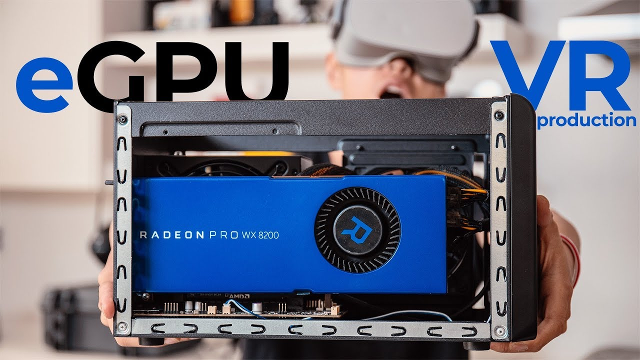 ⚡️SUPERCHARGE⚡️ MacBook for Mobile VR Production with eGPU