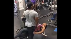 Live cam capture Amateur Couple when girl in exercise