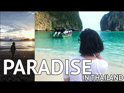 THAILAND PHI PHI ISLANDS TRAVEL VLOG & EPIC SUNSET!!
