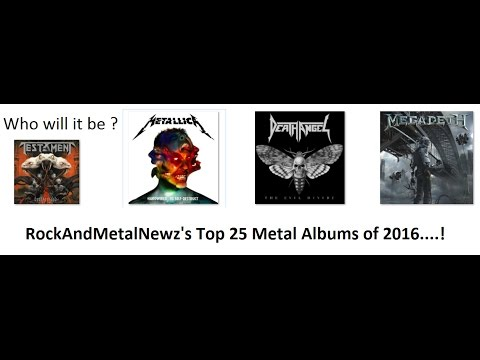 Best Metal Albums of 2016 chosen by RockAndMetalNewz!