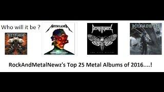 Baixar Best Metal Albums of 2016 chosen by RockAndMetalNewz!